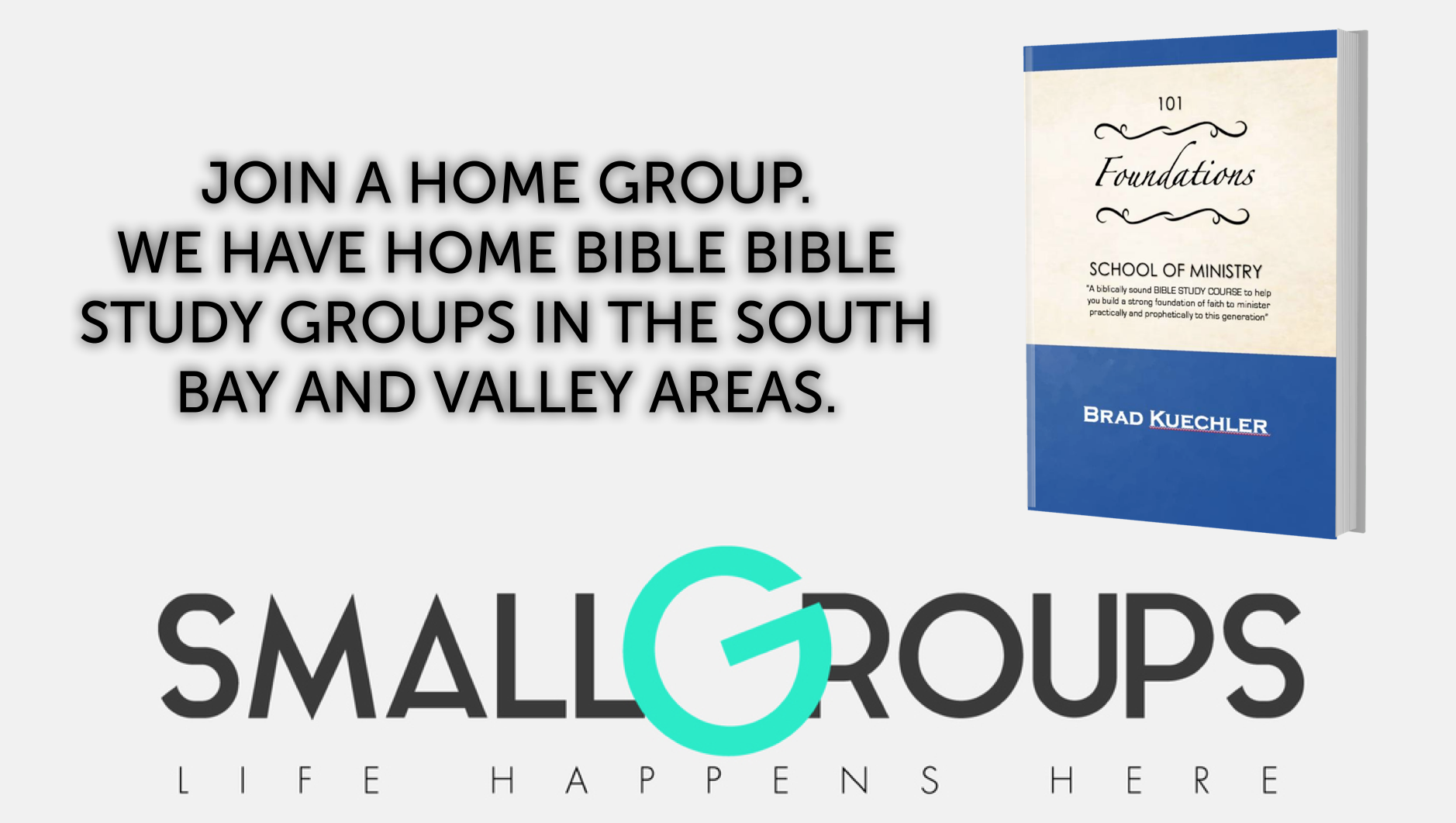 JOIN AN IN PERSON HOME GROUP TODAY!